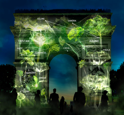 Growing Forest to Be Created by Belgian Artist Naziha Mestaoui in Paris