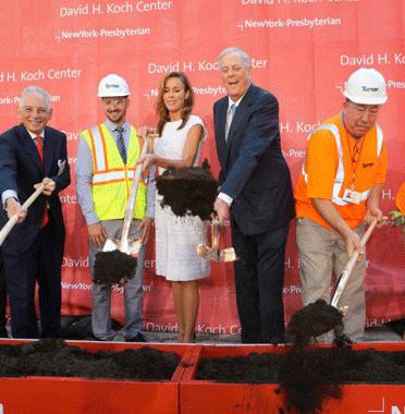 David Koch Donates $100 Million to New York-Presbyterian
