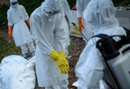 Possible 1 Million Ebola Cases byJanuary