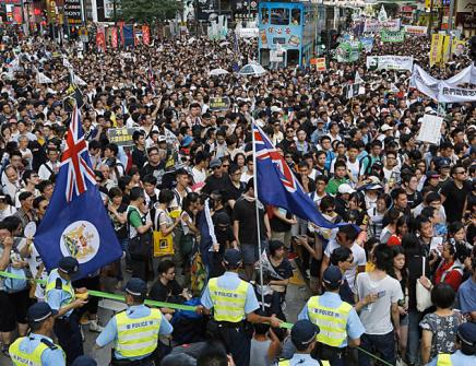 Massive Protests in HongKong