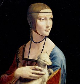 "Secret's Revealed In da Vinci's ""The Lady With an Ermine"""