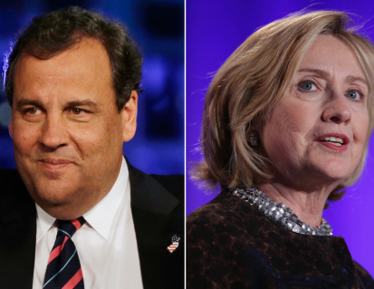 Clinton Tops Christie in New Jersey Poll