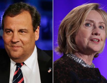 Clinton Tops Christie in New JerseyPoll