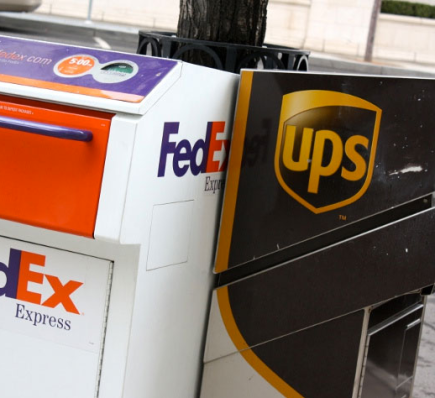 UPS and FedEx Show Signs ofGrowth