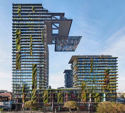 Jean Nouvel's Vertical Garden In Sydney