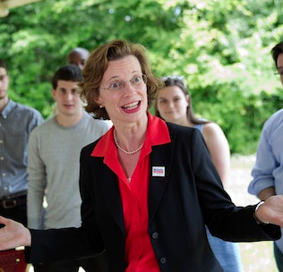Michelle Nunn Becomes Second Democrat Candidate Refusing to Answer if Voted for Obama
