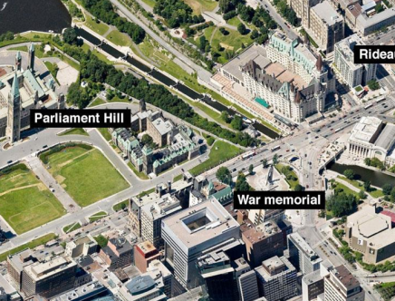 Gunman Kills Canadian Soldier Standing Guard at Parliment; Then Suspect is Killed